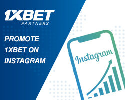 How to promote 1xBet on Instagram