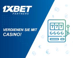 Steigern Sie weiter Ihre Einnahmen mit dem Casino-Produkt von 1xBet