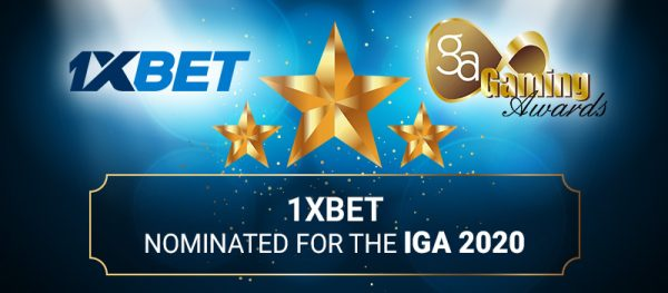 1xBet Receives 6 New Nominations for the International Gaming Awards