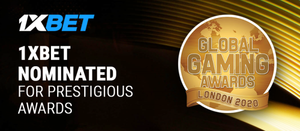 1xBet Affiliate Programme Nominated at the Global Gaming Awards