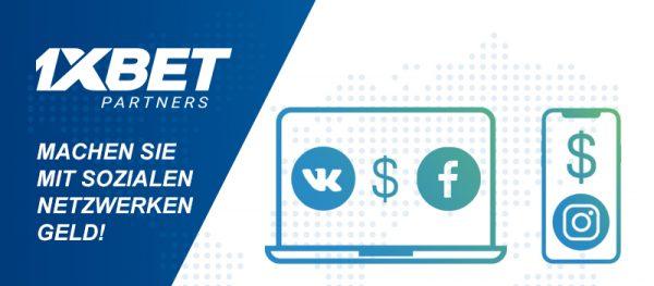 Wie man mithilfe von sozialen Netzwerken Geld verdient