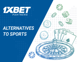Alternatives to Sports on 1xBet