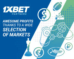 Lots of Markets, lots of profits for 1xBet affiliates