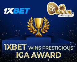 "1xBet wins ""Sports Betting Platform of the Year"" at well-renowned IGA Awards"