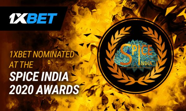 Two 1xBet nominations for SPiCE India 2020 Awards