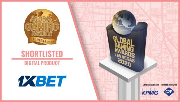 1xBet honoured with coveted Global Gaming Awards nomination