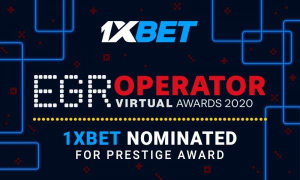 1xBet ha sido nominada a los Premios EGR Operator
