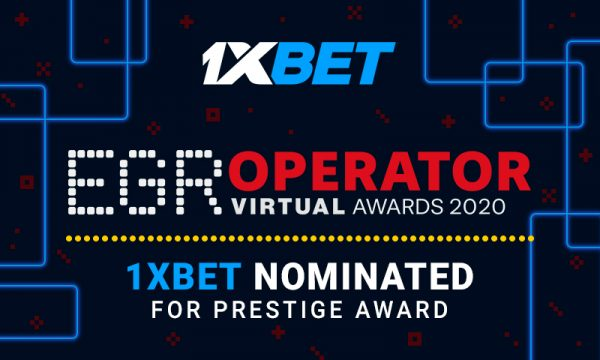 1xBet nominé au prix EGR Operator Awards