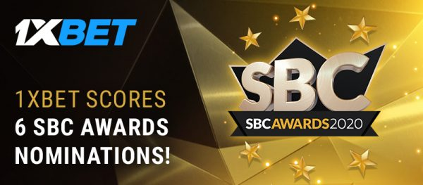 "SBC Awards: 1xBet nominated for ""Best Affiliate Program"" and in five other categories"