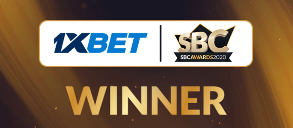 Another recognition: 1xBet wins at the prestigious SBC Awards